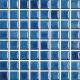 Mozaika Acqua Turquoise   18x18mm   lesk