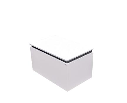 Perfecto | závěsná skříňka 60 cm | 1x zásuvka s mechanismem tichého dovírání
