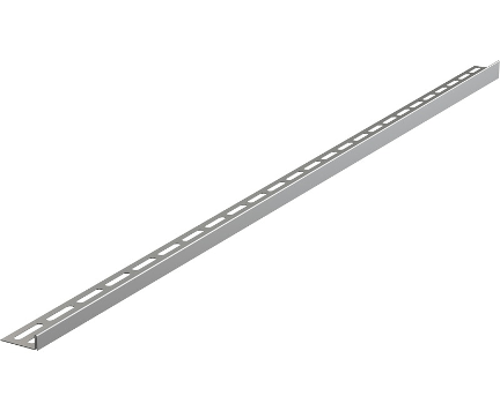 12 | Nerezová lišta pro spádovanou podlahu | 1000 mm | levá
