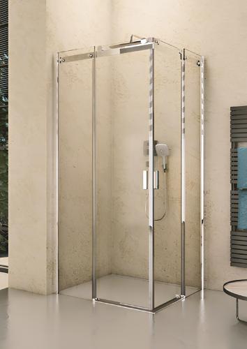 B207 | Sprchová zástěna - rohová | BALTIC | 900 x 900 mm