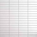 Mozaika Black & White White | 18x78mm | mat