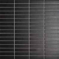 Mozaika Black & White Black | 18x78mm | mat