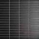 Mozaika Black & White Black   18x78mm   mat