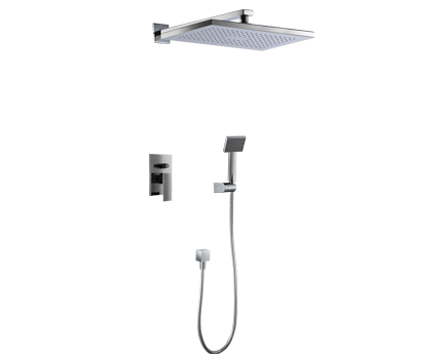 Sprchový set CAE 750   podomítkový pákový   se závěsnou hlavicí 360 x 240 mm