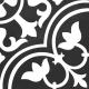 Dlažba Neocim Classic Decor D Noir N | 200x200 | mat