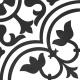 Dlažba Neocim Classic Decor D Noir | 200x200 | mat