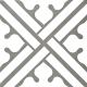 Dlažba Neocim Classic Decor B Graphite   200x200   mat