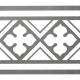 Dlažba Neocim Classic Faixa B Graphite   200x200   mat