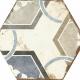 Dlažba Bohemia | Hexagon 210 x 250 | Dalia