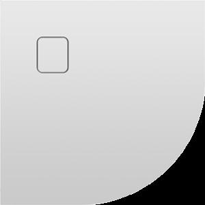 Sprchová vanička BASEL 451| bílá | 900 x 900 x 45