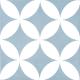 Dlažba Neocim Plus Dekor Fleur Ciel N   200x200   dekor