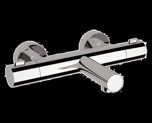 EQ 05 | Vanová baterie | nástěnná | Termostatické | chrom lesk