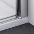 ES1C | Sprchová zástěna - dveře do niky | ESCURA | 700 x 2000 mm | panty vlevo