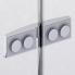 ES13   Sprchová zástěna - dveře do niky   ESCURA   750 x 2000 mm   panty vlevo
