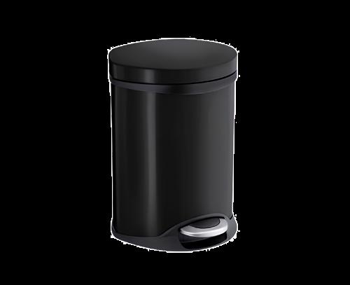 Kosmetický odpadkový koš | 6L | 235 x 320 x 215 | černá