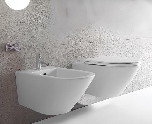WC Forty3 | 570x360x330 mm | závěsné | Bílá lesk | Rimless
