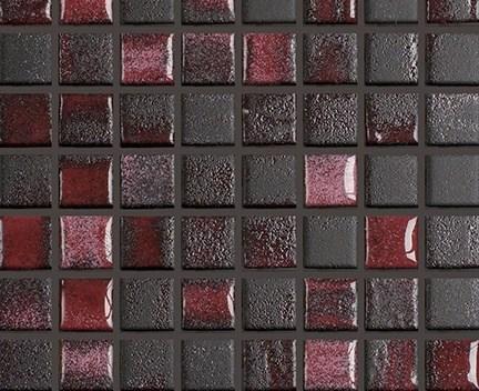 Mozaika Fusion 32 Black & Violet | 18x18mm | lesk