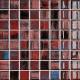 Mozaika Fantasy Red Pepper | 38x38mm | lesk