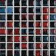 Mozaika Fantasy 68 Blue & Red & Black Mix | 18x18mm | lesk