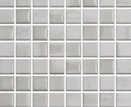 Mozaika Fusion 02 White & Pearl | 18x18mm | lesk