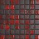Mozaika Fusion Black & Red | 18x18mm | lesk