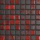 Mozaika Fusion 30 Black & Red | 18x18mm | lesk