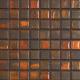 Mozaika Fusion Brown & Orange | 18x18mm | lesk