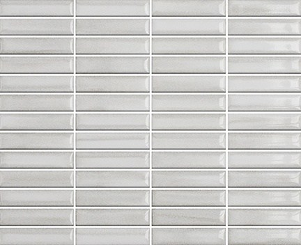 Mozaika Glossy Pearl & Nacar | 18x78mm | lesk