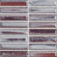 Mozaika Glossy Lilac   18x78mm   lesk