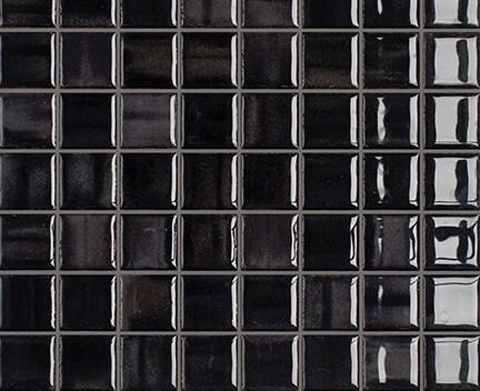 Mozaika Glossy Black | 38x38mm | lesk