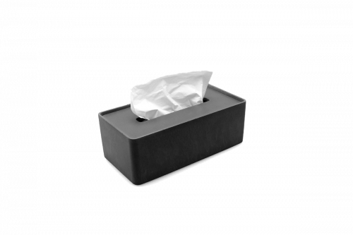 Zásobník na papírové kapesníčky | antracit