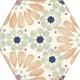 Dlažba Bohemia | Hexagon 210 x 250 | Hanna