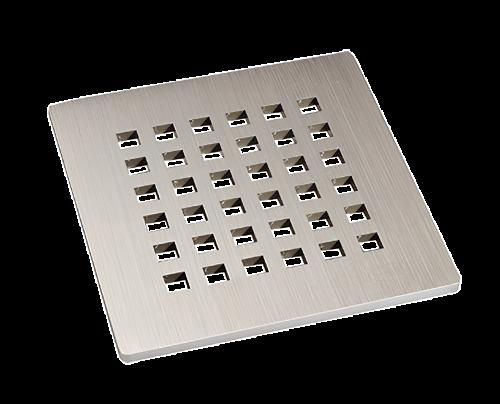 Odtoková mřížka z nerezové oceli (V4A) 115 x 115mm