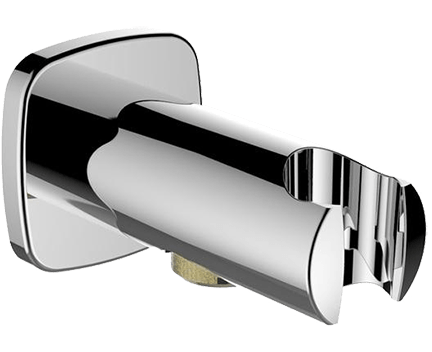 Pevný držák sprchy, vývod vody, chrom - Laufen