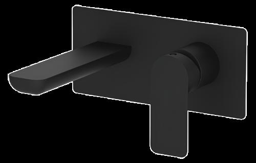 Umyvadlová baterie INFINITY   podomítková páková   jednoprvková   černá mat
