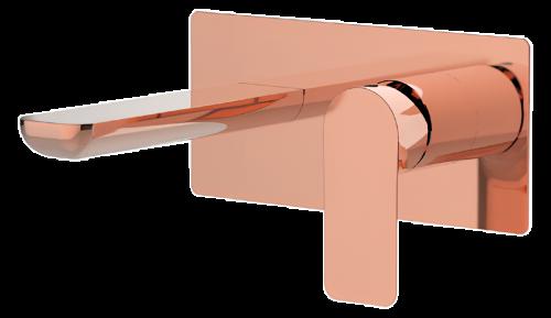 Umyvadlová baterie INFINITY | podomítková páková | jednoprvková | měď stařená