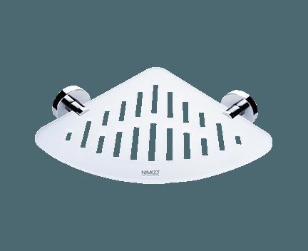 Polička IXI UNIX | rohová s příčným frézováním
