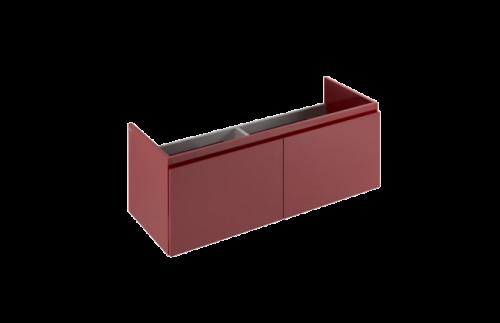 Skříňka po umyvadlo 108 470 | 1190 x 432 x 457 | červená