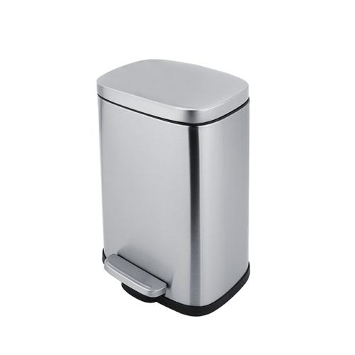 Kosmetický odpadkový koš | 5L | 210 x 305 | broušená nerez