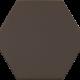 Dlažba Kromatika BROWN | 116 x 101 | mat