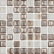 Mozaika Luxor 00 White   18x18mm   lesk