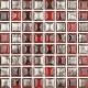Mozaika Luxor 30 Ruby   18x18mm   lesk