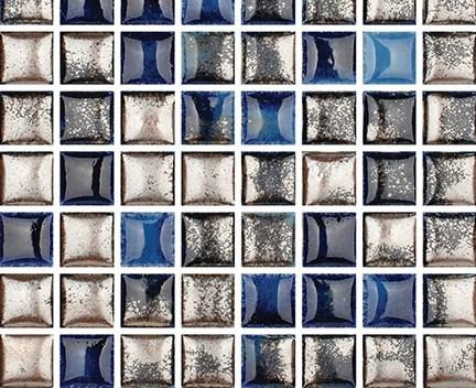 Mozaika Luxor 70 Sapphire | 18x18mm | lesk