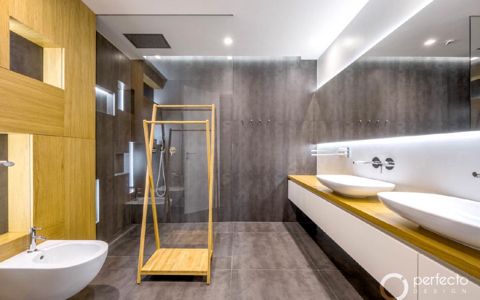 Ukázka realizace koupelny