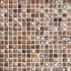 Mozaika Luxor 27 Brown/Orange/Grey | 18x18mm | lesk