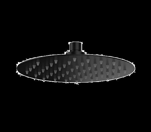 Sprchová hlavice SoffiSlim RD   závěsná   Ø 250 mm   kruhová   černá mat