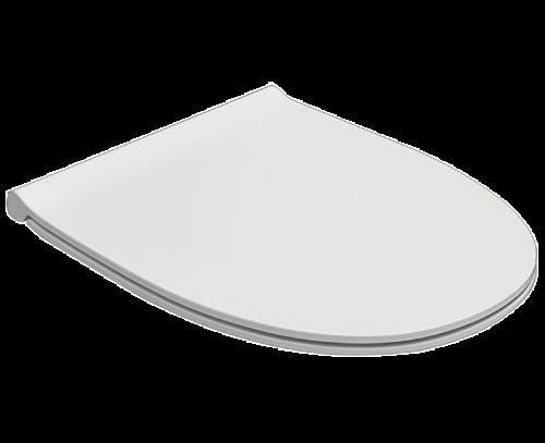 WC sedátko 4ALL | 360x450 mm | Slow Close | Bílá lesk