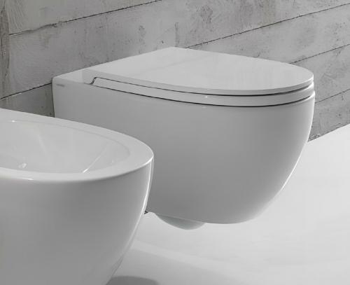 WC 4ALL | 540x360x330 mm | závěsné | Bílá lesk | Rimless