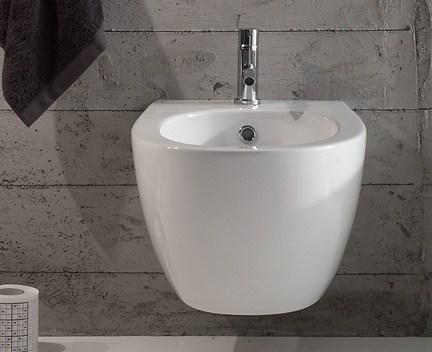 Bidet 4All   závěsný   540x360x270 mm   Bílá lesk