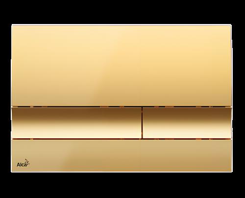 Ovládání WC modulu Alca M1725- zlatá